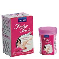 VIJHON FEATHER TOUCH ROSE HAIR REMOVER 40G